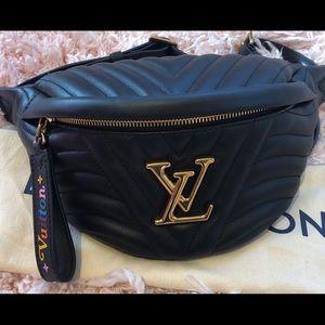 Louis Vuitton New Wave Noir Bum Bag *Authentic